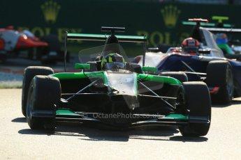 World © Octane Photographic Ltd. Saturday 6th September 2014. GP3 Race 1, Italian GP, Monza - Italy. Nick Yelloly - Status Grand Prix. Digital Ref : 1108LB1D6755