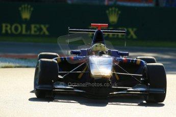 World © Octane Photographic Ltd. Saturday 6th September 2014. GP3 Race 1, Italian GP, Monza - Italy. Luis Sa Silva - Carlin. Digital Ref : 1108LB1D6770
