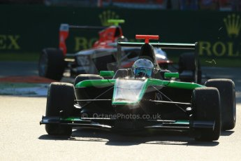 World © Octane Photographic Ltd. Saturday 6th September 2014. GP3 Race 1, Italian GP, Monza - Italy. Alfonso Celis jr - Status Grand Prix. Digital Ref : 1108LB1D6777