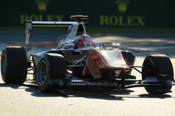 World © Octane Photographic Ltd. Saturday 6th September 2014. GP3 Race 1, Italian GP, Monza - Italy. Mitchel Gilbert - Trident. Digital Ref : 1108LB1D6790