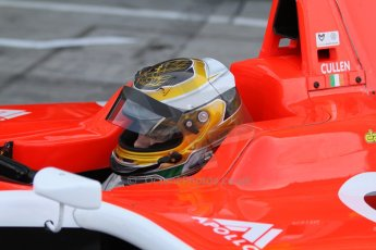 World © Octane Photographic Ltd. Sunday 7th September 2014. GP3 Race 2, Italian GP, Monza - Italy. Ryan Cullen - Marussia Manor Racing. Digital Ref : 1110CB7D0550