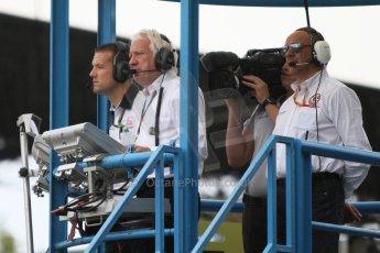 World © Octane Photographic Ltd. Sunday 7th September 2014. GP3 Race 2, Italian GP, Monza - Italy. Charlie Whiting ready to start the race. Digital Ref : 1110CB7D0625