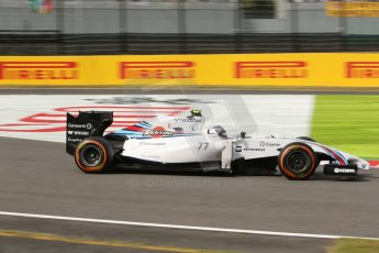 World © Octane Photographic Ltd. Saturday 4th October 2014, Japanese Grand Prix - Suzuka. - Formula 1 Qualifying. Williams Martini Racing FW36 – Valtteri Bottas. Digital Ref: