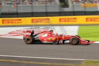 World © Octane Photographic Ltd. Saturday 4th October 2014, Japanese Grand Prix - Suzuka. - Formula 1 Qualifying. Scuderia Ferrari F14T – Kimi Raikkonen. Digital Ref: