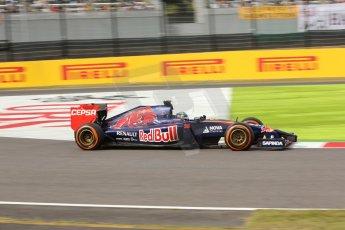 World © Octane Photographic Ltd. Saturday 4th October 2014, Japanese Grand Prix - Suzuka. - Formula 1 Qualifying. Scuderia Toro Rosso STR9 – Jean-Eric Vergne. Digital Ref: