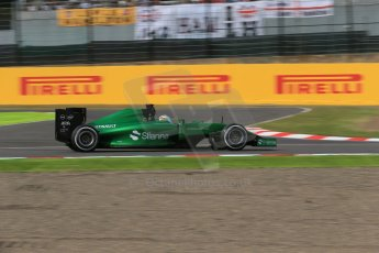 World © Octane Photographic Ltd. Saturday 4th October 2014, Japanese Grand Prix - Suzuka. - Formula 1 Qualifying. Caterham F1 Team CT05 – Kamui Kobayashi. Digital Ref: