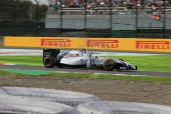 World © Octane Photographic Ltd. Saturday 4th October 2014, Japanese Grand Prix - Suzuka. - Formula 1 Qualifying. Williams Martini Racing FW36 – Felipe Massa. Digital Ref: