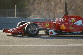 World © Octane Photographic Ltd. 2014 Formula 1 Winter Testing, Circuito de Velocidad, Jerez. Tuesday 28th January 2014. Day 1. Scuderia Ferrari F14T – Kimi Raikkonen. Digital Ref: 0882cb1d9334