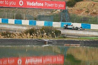 World © Octane Photographic Ltd. 2014 Formula 1 Winter Testing, Circuito de Velocidad, Jerez. Tuesday 28th January 2014. Day 1. Mercedes AMG Petronas F1 W05 – Lewis Hamilton. Digital Ref: 0882cb1d9429