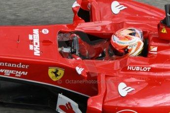 World © Octane Photographic Ltd. 2014 Formula 1 Winter Testing, Circuito de Velocidad, Jerez. Tuesday 28th January 2014. Day 1. Scuderia Ferrari F14T – Kimi Raikkonen. Digital Ref: 0882cb1d9527