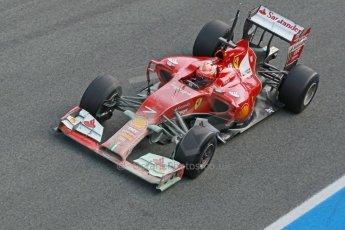 World © Octane Photographic Ltd. 2014 Formula 1 Winter Testing, Circuito de Velocidad, Jerez. Tuesday 28th January 2014. Day 1. Scuderia Ferrari F14T – Kimi Raikkonen. Digital Ref: 0882cb1d9620