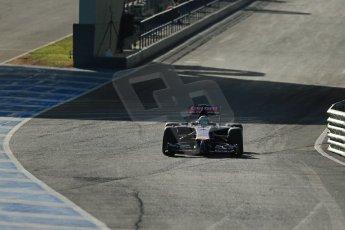 World © Octane Photographic Ltd. 2014 Formula 1 Winter Testing, Circuito de Velocidad, Jerez. Tuesday 28th January 2014. Day 1. Scuderia Toro Rosso STR9 - Jean-Eric Vergne. Digital Ref: 0882lb1d0086