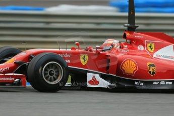 World © Octane Photographic Ltd. 2014 Formula 1 Winter Testing, Circuito de Velocidad, Jerez. Tuesday 28th January 2014. Day 1. Scuderia Ferrari F14T – Kimi Raikkonen. Digital Ref: 0882lb1d0447