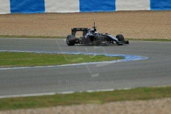World © Octane Photographic Ltd. 2014 Formula 1 Winter Testing, Circuito de Velocidad, Jerez. Tuesday 28th January 2014. Day 1. Williams FW36 – Valtteri Bottas Digital Ref: 0882lb1d0452