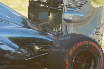 World © Octane Photographic Ltd. 2014 Formula 1 Winter Testing, Circuito de Velocidad, Jerez. Thursday 30th January 2014. Day 3. McLaren Mercedes MP4/29 - Jenson Button. Digital Ref: 0887cb1d0631