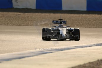 World © Octane Photographic Ltd. 2014 Formula 1 Winter Testing, Circuito de Velocidad, Jerez. Thursday 30th January 2014. Day 3. McLaren Mercedes MP4/29 – Kevin Magnussen. Digital Ref: 0887lb1d2686
