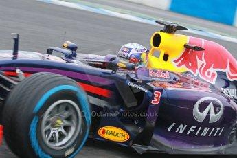 World © Octane Photographic Ltd. 2014 Formula 1 Winter Testing, Circuito de Velocidad, Jerez. Friday 31st January 2014. Day 4. Infiniti Red Bull Racing RB10 – Daniel Ricciardo. Digital Ref: 0888cb1d1298