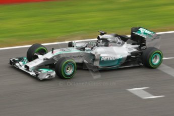 World © Octane Photographic Ltd. 2014 Formula 1 Winter Testing, Circuito de Velocidad, Jerez. Friday 31st January 2014. Day 4. Mercedes AMG Petronas F1 W05 - Nico Rosberg. Digital Ref: 0888cb1d1526