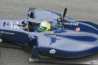 World © Octane Photographic Ltd. 2014 Formula 1 Winter Testing, Circuito de Velocidad, Jerez. Friday 31st January 2014. Day 4. Williams FW36 – Felipe Massa. Digital Ref: 0888cb1d1556