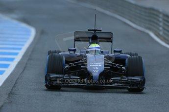 World © Octane Photographic Ltd. 2014 Formula 1 Winter Testing, Circuito de Velocidad, Jerez. Friday 31st January 2014. Day 4. Williams FW36 – Felipe Massa. Digital Ref: 0888lb1d2731
