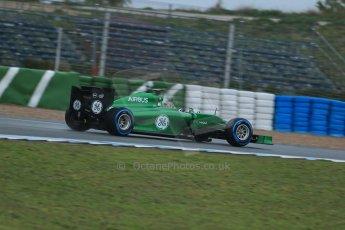 World © Octane Photographic Ltd. 2014 Formula 1 Winter Testing, Circuito de Velocidad, Jerez. Friday 31st January 2014. Day 4. Caterham F1 Team CT05 – Kamui Kobayashi. Digital Ref: 0888lb1d2915