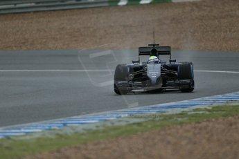 World © Octane Photographic Ltd. 2014 Formula 1 Winter Testing, Circuito de Velocidad, Jerez. Friday 31st January 2014. Day 4. Williams FW36 – Felipe Massa. Digital Ref: 0888lb1d3229