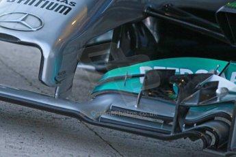 World © Octane Photographic Ltd. 2014 Formula 1 Winter Testing, Circuito de Velocidad, Jerez. Tuesday 27th January 2014. Mercedes AMG Petronas F1 W05 launch. Digital Ref: 0884cb1d9177