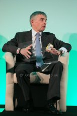 World © Octane Photographic Ltd. Motorsport Industry Association 8th International Low Carbon Racing Conference at Autosport International 2014 in association with Dell. Wednesday 8th January 2014. Lord Paul Drayson: Founder, CEO & Team Principal (Drayson Racing Technologies). Digital Ref :