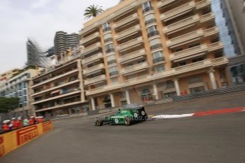 World © Octane Photographic Ltd. Thursday 22nd May 2014. Monaco - Monte Carlo - Formula 1 Practice 1. Caterham F1 Team CT05 – Marcus Ericsson. Digital Ref: 0958LB1D6328