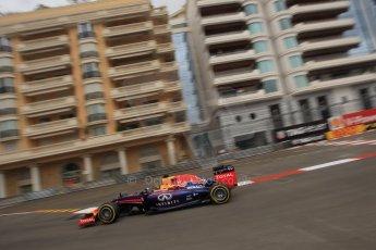 World © Octane Photographic Ltd. Thursday 22nd May 2014. Monaco - Monte Carlo - Formula 1 Practice 1. Infiniti Red Bull Racing RB10 - Sebastian Vettel. Digital Ref: 0958LB1D6342