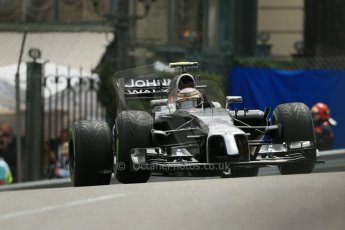 World © Octane Photographic Ltd. Thursday 22nd May 2014. Monaco - Monte Carlo - Formula 1 Practice 2. McLaren Mercedes MP4/29 – Kevin Magnussen. Digital Ref: 0960LB1D4644