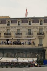 World © Octane Photographic Ltd. Thursday 22nd May 2014. Monaco - Monte Carlo - Formula 1 Practice 2. Infiniti Red Bull Racing RB10 - Sebastian Vettel. Digital Ref: 0960LB1D6627