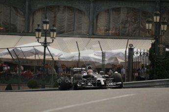 World © Octane Photographic Ltd. Thursday 22nd May 2014. Monaco - Monte Carlo - Formula 1 Practice 2. McLaren Mercedes MP4/29 - Jenson Button. Digital Ref: 0960LB1D6643