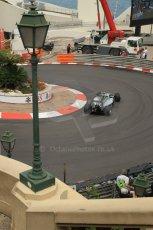 World © Octane Photographic Ltd. Thursday 22nd May 2014. Monaco - Monte Carlo - Formula 1 Practice 2. Mercedes AMG Petronas F1 W05 Hybrid - Nico Rosberg. Digital Ref: 0960LB1D6693