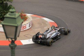 World © Octane Photographic Ltd. Thursday 22nd May 2014. Monaco - Monte Carlo - Formula 1 Practice 2. McLaren Mercedes MP4/29 – Kevin Magnussen. Digital Ref: 0960LB1D6785