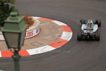 World © Octane Photographic Ltd. Thursday 22nd May 2014. Monaco - Monte Carlo - Formula 1 Practice 2. Mercedes AMG Petronas F1 W05 Hybrid - Nico Rosberg. Digital Ref: 0960LB1D6811