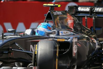 World © Octane Photographic Ltd. Saturday 24th May 2014. Monaco - Monte Carlo - Formula 1 Practice 3. Sauber C33 - Esteban Gutierrez. Digital Ref: 0965LB1D7154