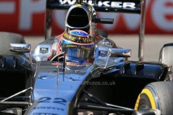 World © Octane Photographic Ltd. Saturday 24th May 2014. Monaco - Monte Carlo - Formula 1 Practice 3. McLaren Mercedes MP4/29 - Jenson Button. Digital Ref: 0965LB1D7168