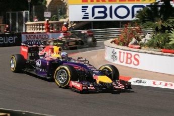 World © Octane Photographic Ltd. Saturday 24th May 2014. Monaco - Monte Carlo - Formula 1 Practice 3. Infiniti Red Bull Racing RB10 – Daniel Ricciardo. Digital Ref: 0965LB1D7262