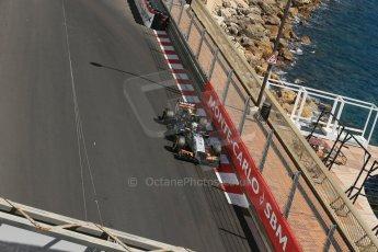 World © Octane Photographic Ltd. Saturday 24th May 2014. Monaco - Monte Carlo - Formula 1 Practice 3. Sahara Force India VJM07 – Sergio Perez. Digital Ref: 0965LB1D7452