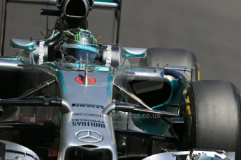 World © Octane Photographic Ltd. Saturday 24th May 2014. Monaco - Monte Carlo - Formula 1 Practice 3. Mercedes AMG Petronas F1 W05 Hybrid - Nico Rosberg. Digital Ref: 0965LB1D7594