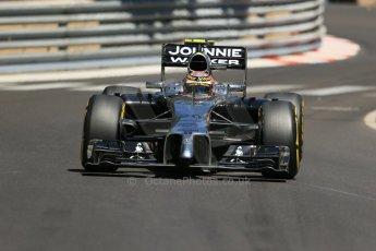 World © Octane Photographic Ltd. Saturday 24th May 2014. Monaco - Monte Carlo - Formula 1 Practice 3. McLaren Mercedes MP4/29 – Kevin Magnussen. Digital Ref: 0965LB1D7618