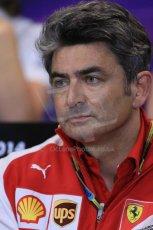 World © Octane Photographic Ltd. Thursday 22nd May 2014. Monaco - Monte Carlo - Formula 1 Press conference. Scuderia Ferrari - Matteo Mattiacci. Digital Ref: 0961LB1D4830