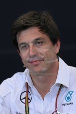 World © Octane Photographic Ltd. Thursday 22nd May 2014. Monaco - Monte Carlo - Formula 1 Press conference. Mercedes AMG Petronas F1 Executive Director - Toto Wolff. Digital Ref: 0961LB1D4837