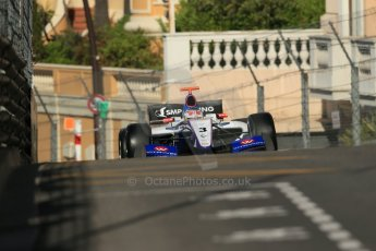 World © Octane Photographic Ltd. World Series by Renault 3.5 - Monaco, Monte Carlo, May 24th 2014 - Qualifying. Fortec Motorsports – Sergey Sirotkin. Digital Ref : 0966LB1D6316
