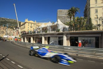 World © Octane Photographic Ltd. World Series by Renault 3.5 - Monaco, Monte Carlo, May 24th 2014 - Qualifying. Comtech Racing – Andrea Roda. Digital Ref : 0966LB1D7434