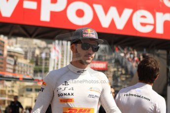 World © Octane Photographic Ltd. Friday 23rd May 2014. GP2 Feature Race – Monaco, Monte Carlo. Daniel Abt - Hilmer Motorsport. Digital Ref: 0963CB7D5102