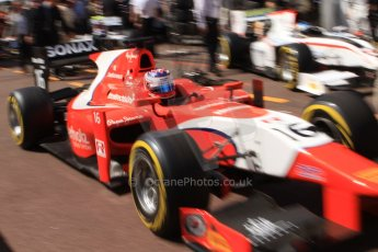 World © Octane Photographic Ltd. Friday 23rd May 2014. GP2 Feature Race – Monaco, Monte Carlo. Rene Binder - Arden International. Digital Ref : 0963CB7D5115