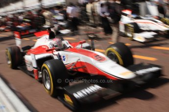 World © Octane Photographic Ltd. Friday 23rd May 2014. GP2 Feature Race – Monaco, Monte Carlo. Takuya Izawa - ART Grand Prix. Digital Ref : 0963CB7D5118