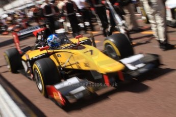 World © Octane Photographic Ltd. Friday 23rd May 2014. GP2 Feature Race – Monaco, Monte Carlo. Jolyon Palmer - DAMS. Digital Ref : 0963CB7D5127
